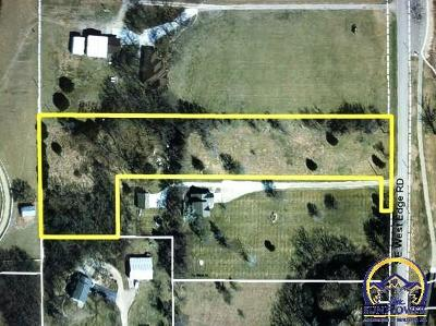 Topeka Residential Lots & Land For Sale: 4405 SE West Edge Rd