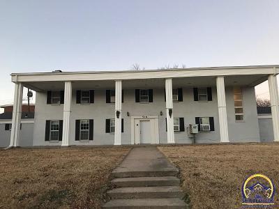 Emporia Multi Family Home Under Cont Take Back-Ups: 516 E 12th Ave