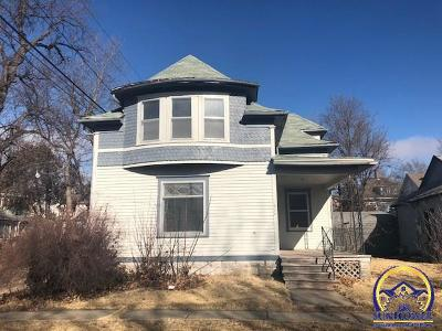 Emporia Single Family Home For Sale: 314 E Fifth St