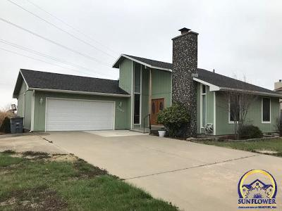 Emporia KS Single Family Home For Sale: $189,900