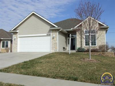 Topeka Single Family Home For Sale: 6316 SW Monarch Ct