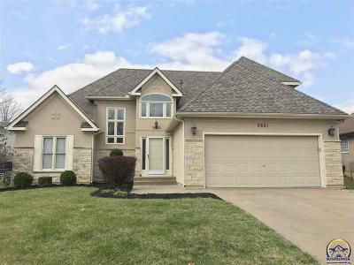 Topeka Single Family Home For Sale: 3801 SW Lincolnshire Rd