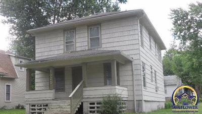 Emporia KS Single Family Home For Sale: $69,900