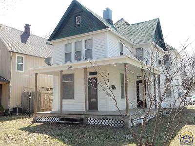 Topeka KS Single Family Home For Sale: $39,950