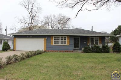 Topeka Single Family Home For Sale: 5529 SW 25th St