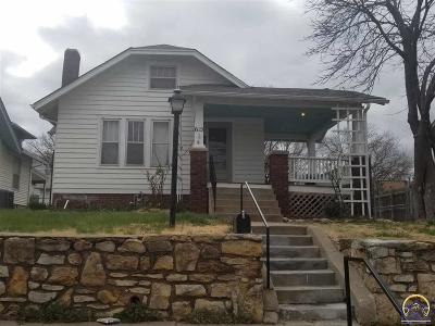 Topeka KS Single Family Home For Sale: $65,500