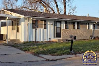 Topeka KS Single Family Home For Sale: $44,900