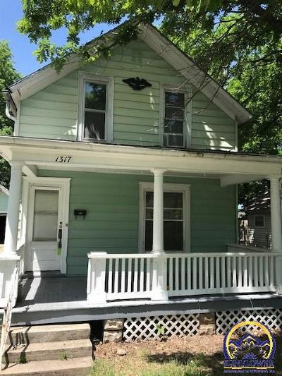 Emporia Single Family Home For Sale: 1317 Walnut St