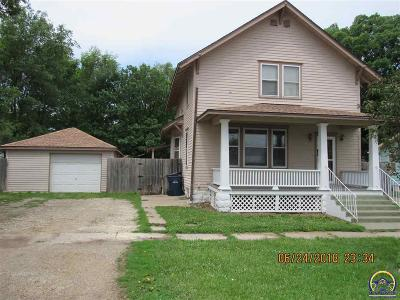 Osage City Single Family Home For Sale: 111 N 4th St