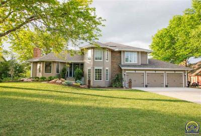 Topeka Single Family Home For Sale: 7518 SW Blue Inn Pl