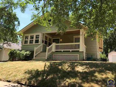 Topeka Single Family Home For Sale: 729 SW Webster Ave