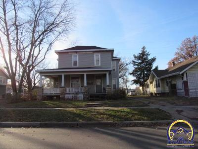 Topeka Multi Family Home For Sale: 1711 SW Central Park Ave