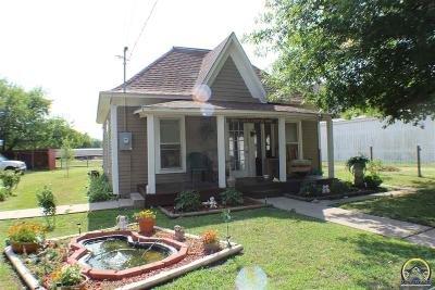 Emporia KS Single Family Home For Sale: $48,900