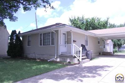Emporia Single Family Home For Sale: 2042 W Eighth St