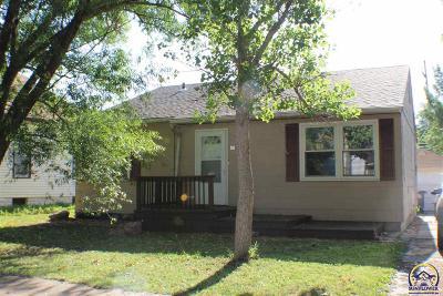 Emporia KS Single Family Home For Sale: $84,500