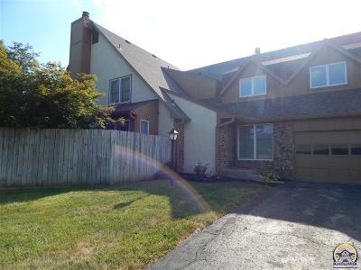 Topeka KS Single Family Home For Sale: $115,600