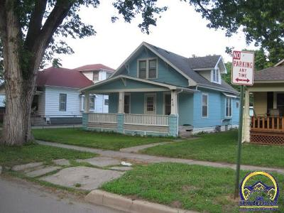 Topeka KS Single Family Home For Sale: $55,000