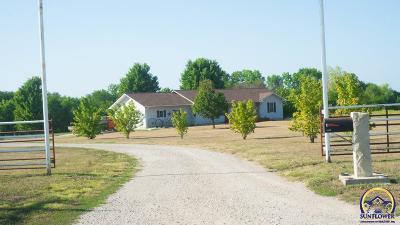 Emporia KS Single Family Home For Sale: $528,900