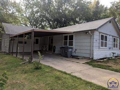 Emporia KS Single Family Home For Sale: $94,900