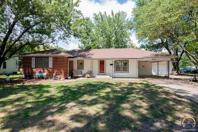 Osage City Single Family Home For Sale: 722 Lincoln St