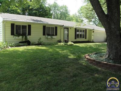 Topeka Single Family Home For Sale: 1405 SW 30th St