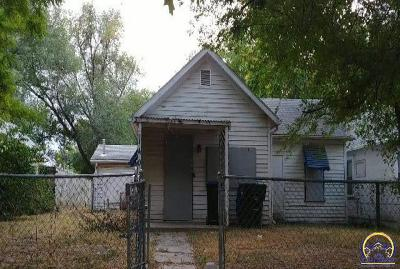 Topeka Single Family Home For Sale: 1409 NW Central Ave