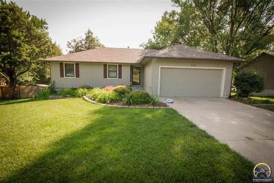Topeka Single Family Home For Sale: 4145 NW Union Dr