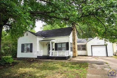 Topeka KS Single Family Home For Sale: $98,500
