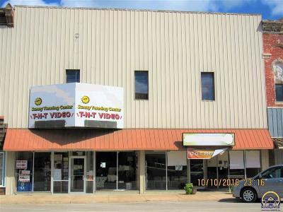 Osage City Commercial For Sale: 526 Market St
