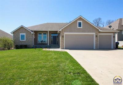 Topeka KS Single Family Home For Sale: $317,900
