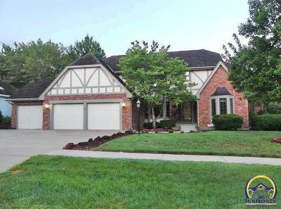 Topeka KS Single Family Home For Sale: $399,900