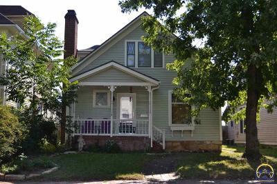Topeka KS Single Family Home For Sale: $69,900