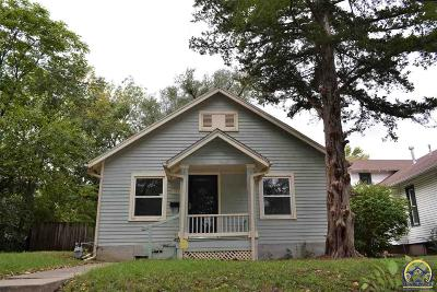 Topeka Single Family Home For Sale: 337 SW Jewell Ave