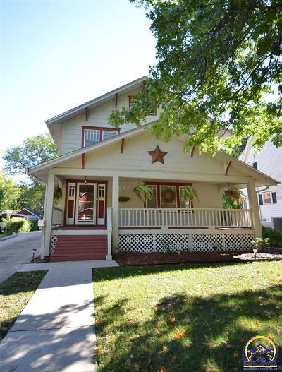 Emporia Single Family Home For Sale: 1520 West St