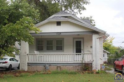 Topeka KS Single Family Home For Sale: $74,900