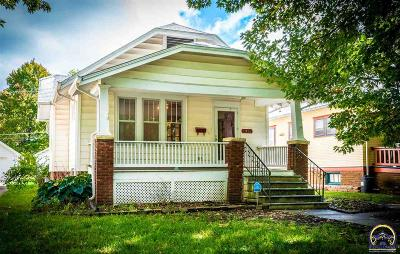Topeka KS Single Family Home For Sale: $78,900