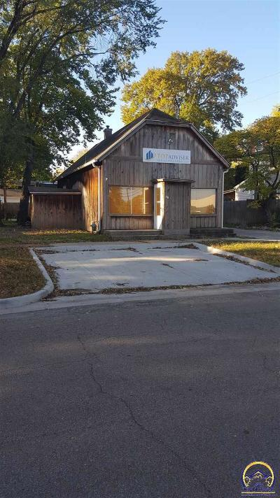 Topeka Commercial For Sale: 1111 SW 3rd St