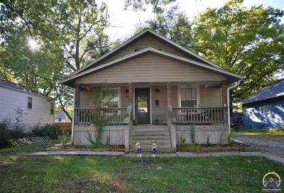 Emporia KS Single Family Home For Sale: $74,900