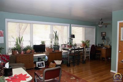 Topeka KS Single Family Home For Sale: $40,000