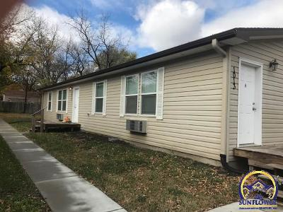 Emporia KS Multi Family Home For Sale: $170,000