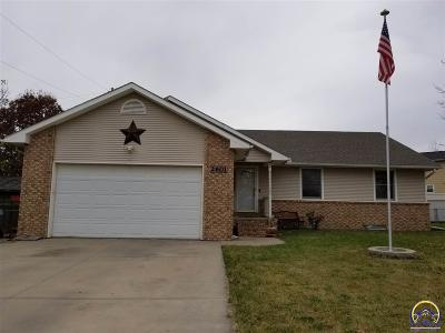Emporia KS Single Family Home For Sale: $199,500