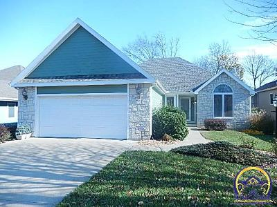 Topeka Single Family Home For Sale: 3616 SW Spring Hill Dr