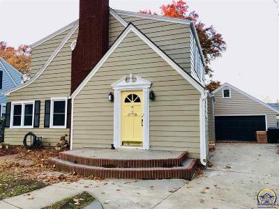 Topeka KS Single Family Home For Sale: $195,000