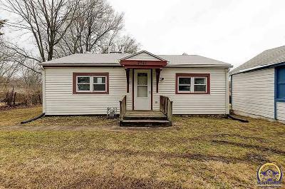 Topeka KS Single Family Home For Sale: $27,500