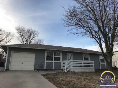 Emporia KS Single Family Home For Sale: $112,900