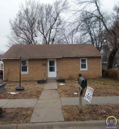 Emporia KS Single Family Home For Sale: $42,500