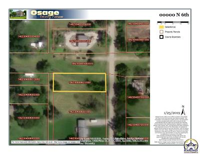 Osage City Residential Lots & Land For Sale: N 6th St