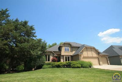 Topeka Single Family Home For Sale: 3700 SW Clarion Park Dr