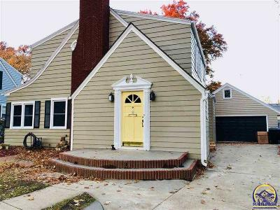 Topeka Single Family Home For Sale: 3020 SW Clark Ct