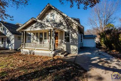 Topeka KS Single Family Home For Sale: $100,000